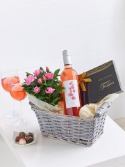 Luxury Rosé Wine Gift Basket